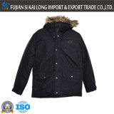 Caldo esterno di inverno degli uomini Wear Giacca imbottita con Cap