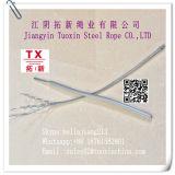 プラスチック上塗を施してある電流を通された鋼線ロープ7*7-3mm
