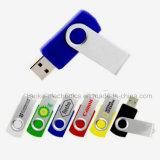 Heißer Verkauf USB grelles Pendrive mit Firmenzeichen-Drucken (307)