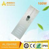 100W indicatore luminoso di via solare dei prodotti LED con indicatore luminoso esterno
