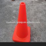 Flexíveis de segurança de tráfego 30cm/45/70/75cm Cone de tráfego de PVC