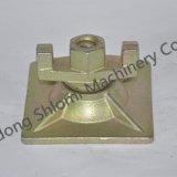 L'écrou à embase métallique de l'Escadre pour panneau de coffrage