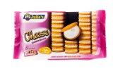 Máquina de empacotamento automática dos biscoitos do alimento do sanduíche do queijo de Malaysia