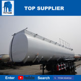 Réservoir diesel de titan de 50000 litres d'essence de camion-citerne aspirateur de pétrole remorque de réservoir d'huile de réservoir et de palmier de remorque semi
