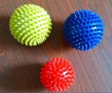 Esfera Multicoloured do Hedgehog da esfera da massagem do PVC