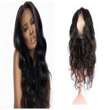 Pelucas llenas al por mayor hechas a máquina del pelo humano del cordón para las pelucas brasileñas del pelo de Remy de las mujeres negras