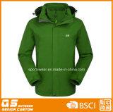 3 em 1 para homens à prova de alta qualidade jaqueta de desportos de Inverno Quente