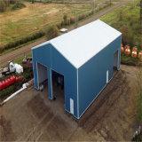 Diseño profesional de la estructura de acero de almacén o taller
