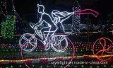 La chaîne de caractères de Noël de vacances de DEL allume la décoration de noce
