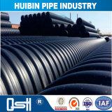 De Flexibele HDPE Plastic Pijp van uitstekende kwaliteit voor Lossing van Riolering
