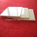 Placa cerâmica da folha da alumina 99.7% Polished eletrônica