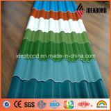 AA3004 de Folie van het Aluminium van de Kleur van het dakwerk (VE-36A)