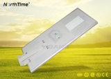 Fabrico Marcação RoHS braço único LED Bridgelux Luz Rua Solar