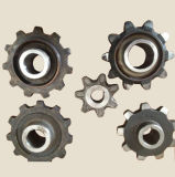 La cire perdue Coulée en acier du pignon pour pièces de machinerie agricole