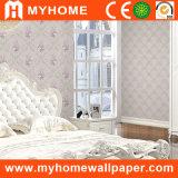 Papier peint romantique de chambre à coucher avec le matériel Paintable