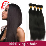 100%년 Remy 똑바른 처리되지 않은 Virgin 브라질 머리 씨실