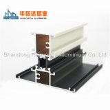 Aluminiumfenster unterteilt Puder beschichtetes Aluminiumprofil