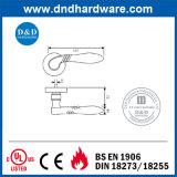 Maneta de puerta única europea de los Ss del hardware del estilo con la certificación del Ce