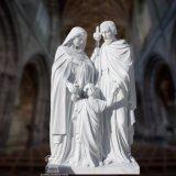 A escultura religiosa da escultura santamente da estátua da família