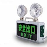Doble indicador de cabezas de la lucha contra incendios de emergencia de iluminación LED