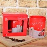 De Rode Mok van Kerstmis met de Ijsbeer voor de Gift van Kerstmis
