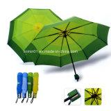 صنع وفقا لطلب الزّبون [بو] مقبض دليل استخدام مظلة مفتوح مستقيمة لأنّ هبة ترويجيّ