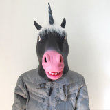 Маска новой маски Halloween единорога маски латекса конструкции изготовленный на заказ резиновый