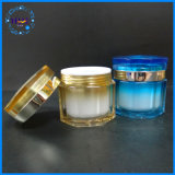 2017 Kosmetische Container van de Luxe van de Kruik van de Room de Plastic Lege