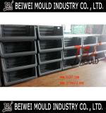 高品質の大きいプラスチックスタッキングの収納用の箱型