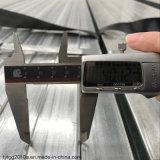 60mm cuadrado y Rectángulo Gi tubo Tubo de acero al carbono tubo Tubo de acero galvanizado