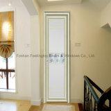 Дверь термально пролома алюминиевая с стандартным прокатанным стеклом (FT-D70)