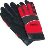 Productos de seguridad Guante mecanico Plain palma y dedos guante de trabajo DIY