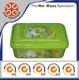 Toalhetes molhados de desinfetantes para animais de fibra natural