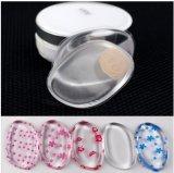 Feuilleté de poudre cosmétique de silicones de feuilleté de gelée d'éponge de renivellement d'outil de beauté