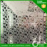 Grabado de pistas 201 de la decoración del precio al por mayor hoja de acero inoxidable 316 304 para la fabricación del elevador de la escalera móvil