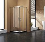 Cerco de alumínio do chuveiro do frame do perfil do setor de Ecomonic do chuveiro do banheiro