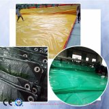 Mainholandの市場の防水プラスチック屋根ふきカバー耐火性のトラックのPEの防水シート