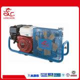 Eléctrica de gasolina de 300 bar aire a alta presión Compressure para practicar el Buceo