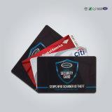 Mdbs52 de Douane Afgedrukte Blokkerende Koker van de Creditcard RFID