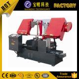 CNC 두 배 란 수평한 수직 유압 금속 밴드는 기계를 보았다