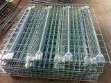 Vente en gros Durable Fil Galvanisé Mesh Decking pour Rack Entrepôt de stockage