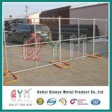 Comitato di recinzione provvisorio ritrattabile galvanizzato tuffato caldo della rete fissa della barriera del Temp
