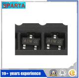 Транзистор регулятора напряжения тока силы обломока BAW56W 56W Sot323 3-Terminal
