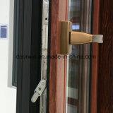 Madeira Wenge folheados ou chapeados de quebrar a janela de alumínio térmica
