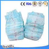 Les couches-culottes remplaçables de bébé d'absorption de Hight/bébé choient avec le prix bon marché au Ghana