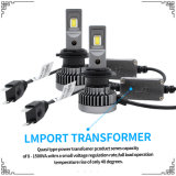 크리 사람 H7 LED LED 차 빛 4800lm 전구와 숨겨지은 장비를 가진 공장에서 자동 헤드라이트 부속