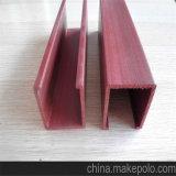 Matériau de construction en bois couverte de plastique WPC plafond composite de Shandong