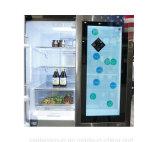 Yashi Hot vender 42 polegadas LCD transparente frigorífico de porta