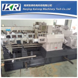 Screw jumeau Plastic Extruder Machine pour pp Pelletizing