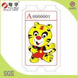 La alta calidad de impresión de ticket alimentación y la fábrica de diseño personalizado